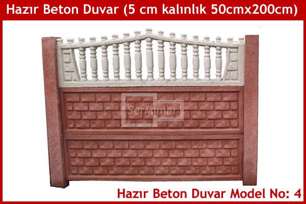 Hazır Beton Bahçe Duvarı - Hazır Beton Bahçe Duvarı