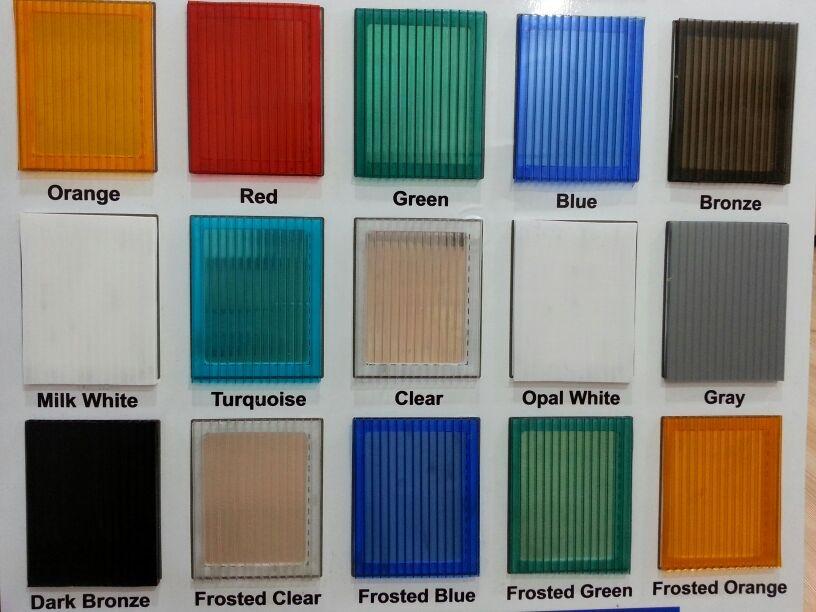 Polikarbon Levha Renkleri - Polikarbonat Levhalar